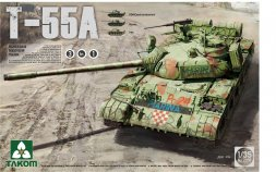 Takom T-55A Russian MBT 1:35