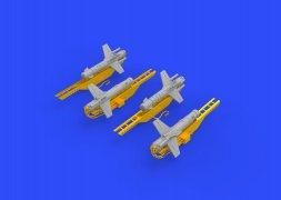 Eduard Brassin Falanga 9M17P missiles 1:72