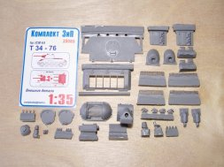 T-34/76 (1940) exterior se for ICM 1:35
