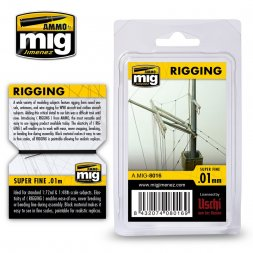 Rigging super fine 0.01mm