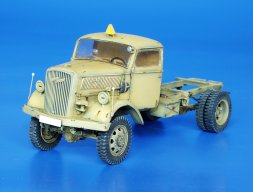 Plusmodel Opel 4x4 chassis sonversion set 1:35