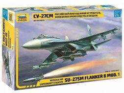 Zvezda Su-27SM Flanker 1:72
