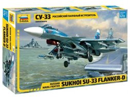 Su-33 Flanker-D 1:72