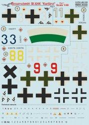 Bf 109K Kurfürst Part.1 1:48