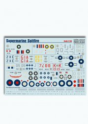 Print Scale Supermarine Spitfire 1:144