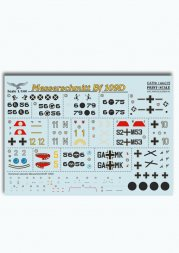 Print Scale Bf 109D 1:144