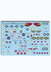 Print Scale P40 Kittyhawks 1:144