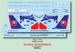 Airbus A319 - Slovak Government 1:144