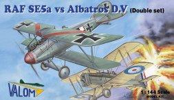RAF SE5a vs. Albatros D.V 1:144