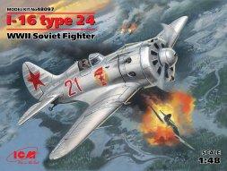 Polikarpov I-16 type 24 1:48