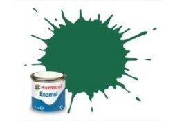 Humbrol 030 - Dark Green Matt  - 14ml Enamel