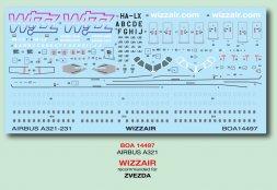 Airbus A321 - Wizzair 1:144