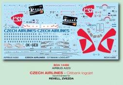 Airbus A320 - Czech Airlines (citibank logojet) 1:144
