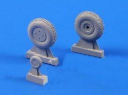 Boomerang / Wirraway - wheels 1:72