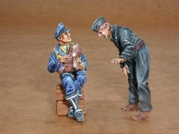 CMK German pilot + mechanic WWII 1:32