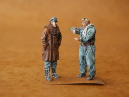 CMK German Pilot + Officer W I 1:48
