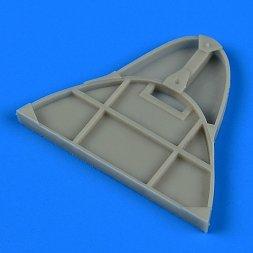 Quickboost Gloster Gladiator bulkhead für Roden 1:48