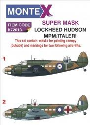 Montex Lockheed Hudson super mak for MPM/ Italeri 1:72