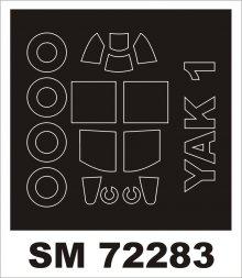 Montex Yak-1 mini mask für Brengun 1:72