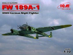 Focke-Wulf FW 189A-1 - Night Fighter (w/ FuG 212) 1:72