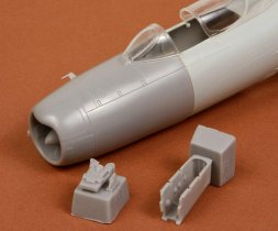 MiG-19PM correct nose for Trumpeter 1:48