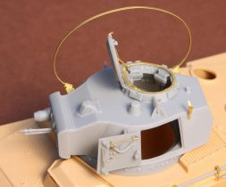 SBS model Toldi I (A20) corrected turret (without barrel) 1:35