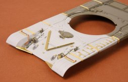 SBS model T-72M early front hull armour set for Tamiya 1:35
