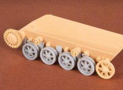SBS model Toldi I.-II.-III. Roadwheels + suspension set 1:35