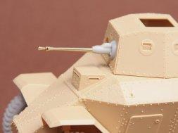 SBS model 39M Csaba 20mm barrel + mantlet 1:35