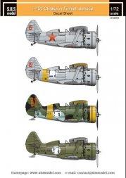 Polikarpov I-153 Chaika Finnish Air Force 1:72