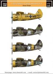 Polikarpov I-153 Chaika Finnish Air Force Vol II 1:72