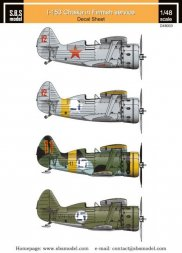 SBS model Polikarpov I-153 Finnish Air Force WWII Vol.I 1:48