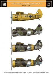 SBS model Polikarpov I-153 Finnish Air Force WWII Vol.II 1:48