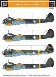 Junkers Ju-88 A-4 in Finnish Service 1:48