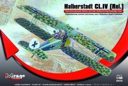 Mirage Hobby Halberstadt CL.IV (Rol.) - Rolland l. fuselage 1:48