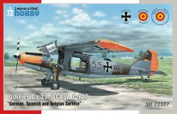 Dornier Do 27  - German,Spanish and Belgian Service 1:72
