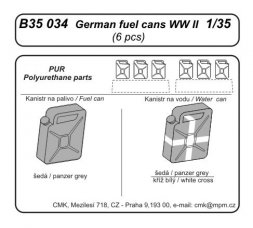 German fuel cans WW II 1:35