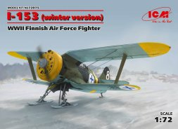 ICM I-153 - Finnish Air Force (winter version) 1:72