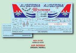 Airbus A320 - Air Serbia 1:144