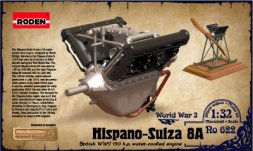 Roden Hispano Suiza V8A 1:32
