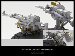 Miniarm GaZ Tiger/Tiger-M (SOF) turret 1:35