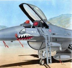 F-16A/C ladder 1:48