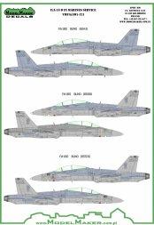 F/A-18D VMFA-121 Green Knights 1:72