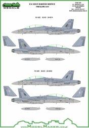 F/A-18D Hornet - VMFA-533 Hawks 1:72