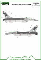 F-16 in Portuguese service - 20 Years 1:72