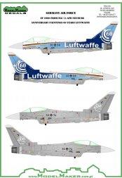 Eurofighter Typhoon - 60 Years Luftwaffe TLG 71:48