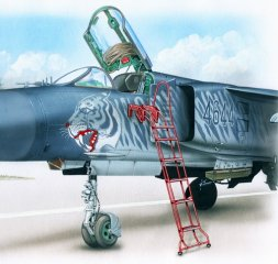 MiG-23 ladder 1:48