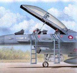 F-16B/D ladders 1:48