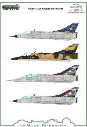Dassault Mirage III/ 5 - Argentine Mirage Farewell 1:48
