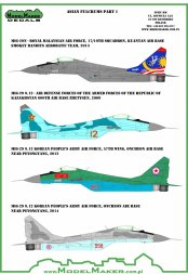 MiG-29 Asian Fulcrums part I + refueling probe 1:48
